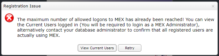 Removing Inactive Users From MEX